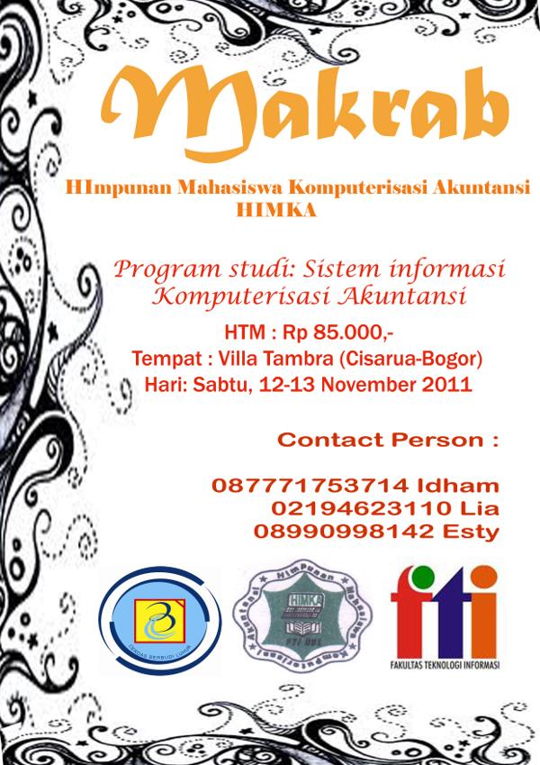 Malam Keakraban HIMKA Fakultas Teknologi Informasi
