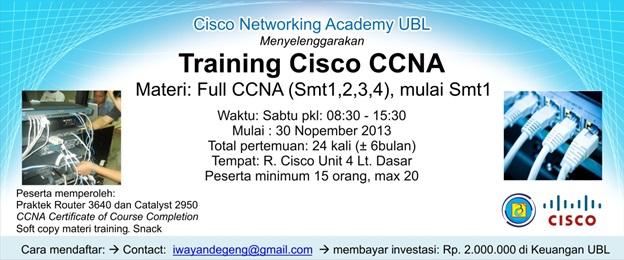 Training Cisco CCNA