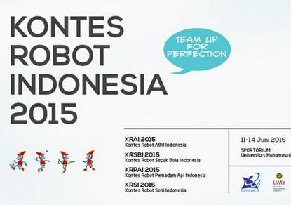Tim Robot BLUE DEEP UBL Bertanding di Kontes Robot Tingkat Nasional
