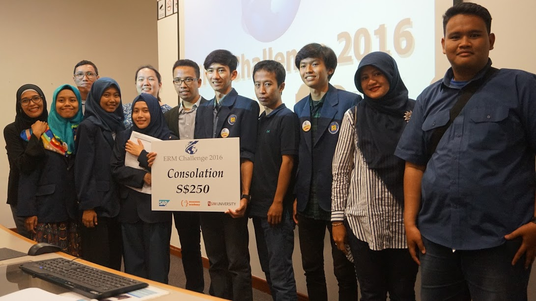 Universitas Budi Luhur Peringkat 5 di Ajang Regional Final ERMC 2016 di Singapore