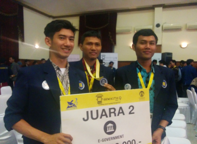 UBL Raih Juara 2 Kompetisi GemasTIK 9 Kategori E-Government