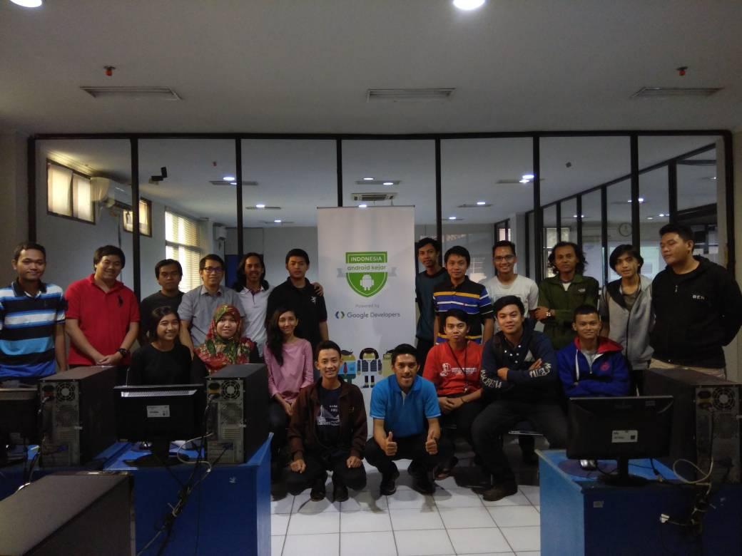 Pelaksanaan Study Group Indonesia Android Kejar