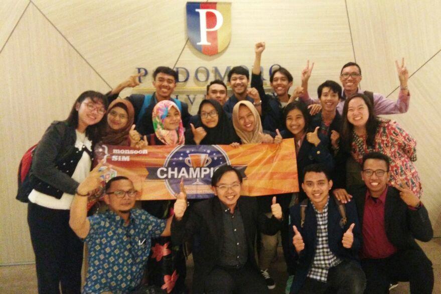 Universitas Budi Luhur Meraih Juara 1 dan 2 Pada Ajang MERPC 2017 Indonesian Final di Podomoro University