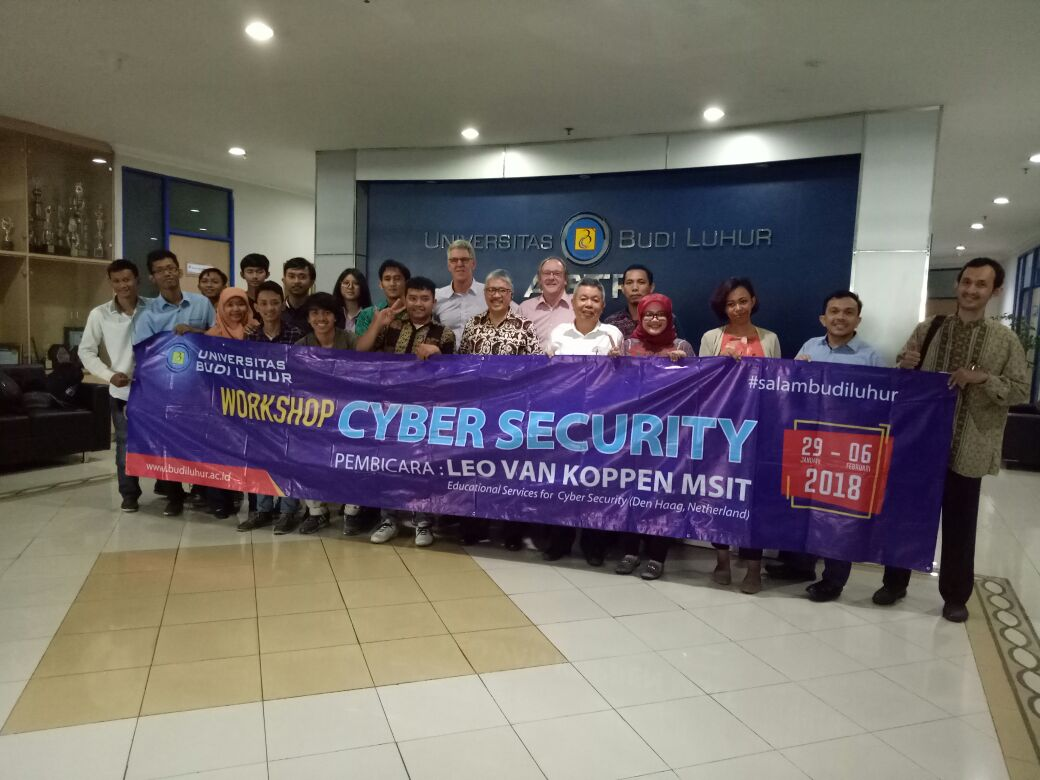 Pelaksanaan Workshop Introduction to Cyber Security