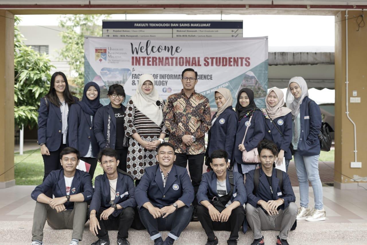 Pelaksanaan Program Summer School Mahasiswa FTI UBL ke FTSM Universiti Kebangsaan Malaysia (UKM) 2018