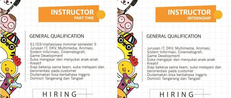 HIRING NOW!!! Lowongan Kerja PT DIGIKIDZ INDONESIA