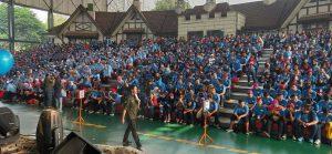 Mahasiswa Baru Saat Inagurasi di Dufan - Ancol