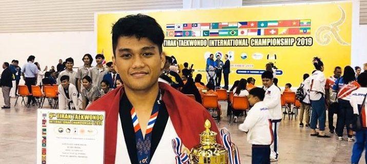 Alreza Aziz Ainun Nadjib (1812510889)telah meraih Mendali Perak padaKategori Male, 74 - 80 kg Class A Silver pada 9th Tirak Taekwondo International Championship 2019