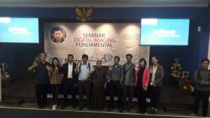 Bersama para guru pendamping SMA dan SMK yang diundang