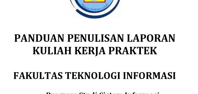 Panduan KKP Sistem Informasi