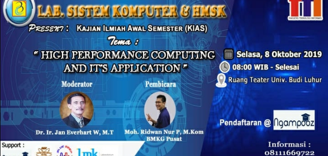"KIAS ""High Performance Computing and It's Application"""