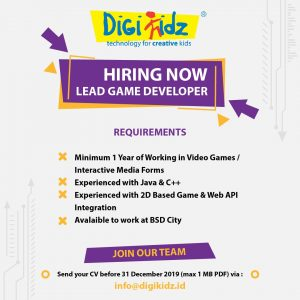 LEAD GAME DEVELOPER