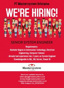 Senior System Engineer
