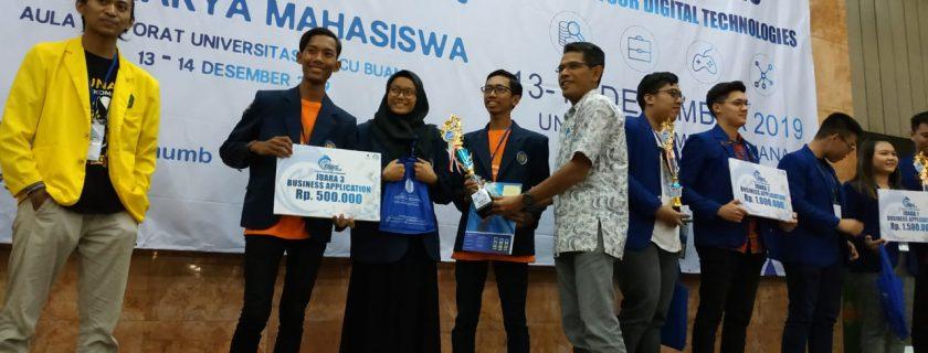 Universitas Budi Luhur Raih Juara 3 Kompetisi CODIG Competition 2.0