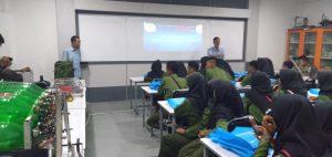 Kunjungan ke Lab Robotika Universitas Budi Luhur