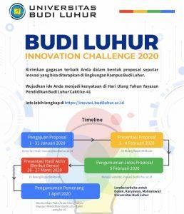 Budi Luhur Innovation Challenge 2020