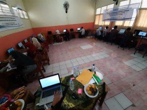 Proses Pelatihan Google Classroom
