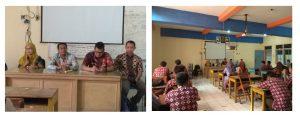 Sambutan Dari Kepala Sekolah SMK Berbudi Yogyakarta dan Perwakilan Tim Pelaksana PKM