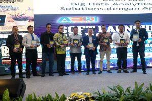 Kegiatan (alm.) Bapak Abdulah Andi Koro, S.Kom., M,Kom pada acara yang diselenggarakan oleh ABDI Data Technology & AI Governance Summit & Awards