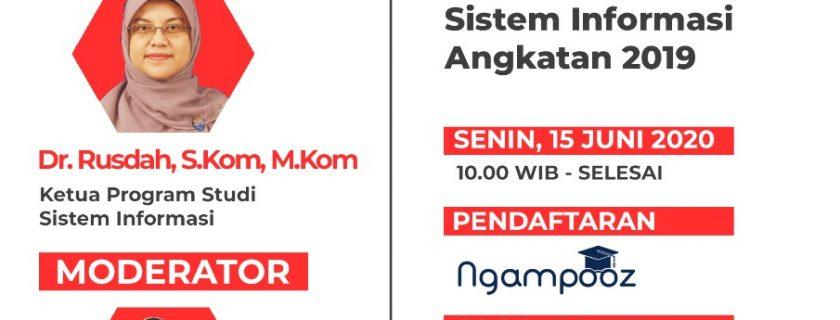 Webinar Peminatan Program Studi Sistem Informasi Angkatan 2019