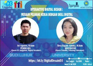 Interactive Digital Design : Meraih Peluang Kerja Dengan Skill Digital
