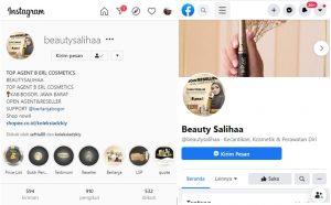 Media Sosial Beautysalihaa