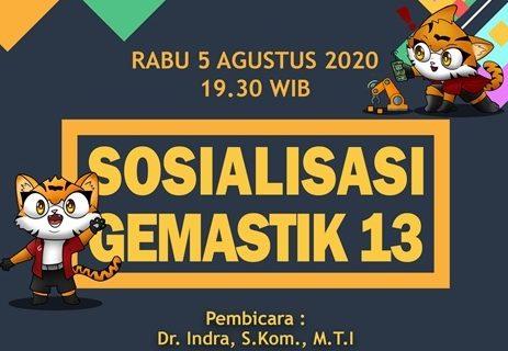 SOSIALISASI GEMASTIK 2020
