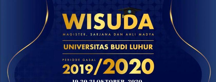 Wisuda Fakultas Teknologi Informasi Periode Gasal 2019/2020