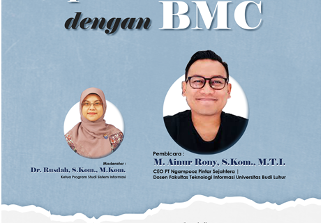 Webinar Optimasi Bisnis Dengan Business Model Canvas (BMC)