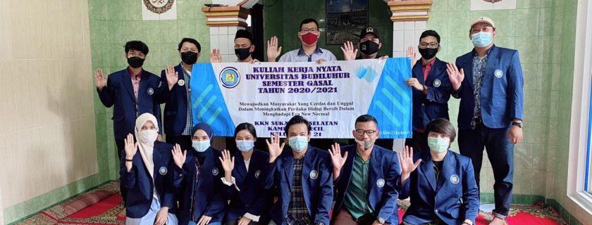 Mahasiswa Universitas Budi Luhur Memberikan Penerapan Dalam Meningkatkan Perilaku Hidup Bersih Pada Era New Normal