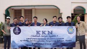 KKN Universitas Budi Luhur di Kp. Dadap Tangerang Selatan
