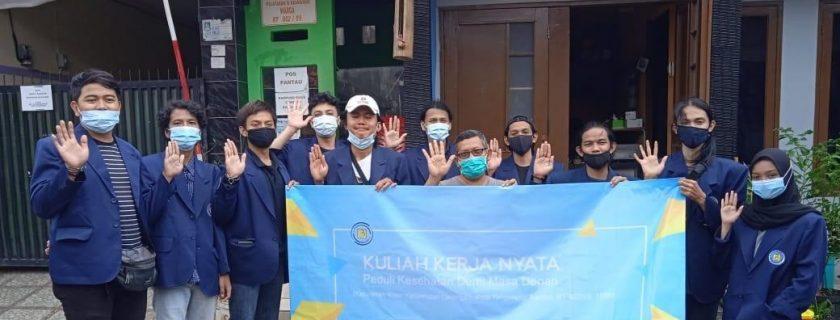"""KKN """"Peduli Kesehatan Demi Masa Depan"""" Pada Situasi Pandemi Covid-19 Dengan Pendekatan  Sosialisasi Di Kelurahan Kreo"""