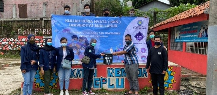 "KKN ""Pelestarian Lingkungan Dan Pencegahan Penyebaran Covid-19"" Berjalan Sukses"
