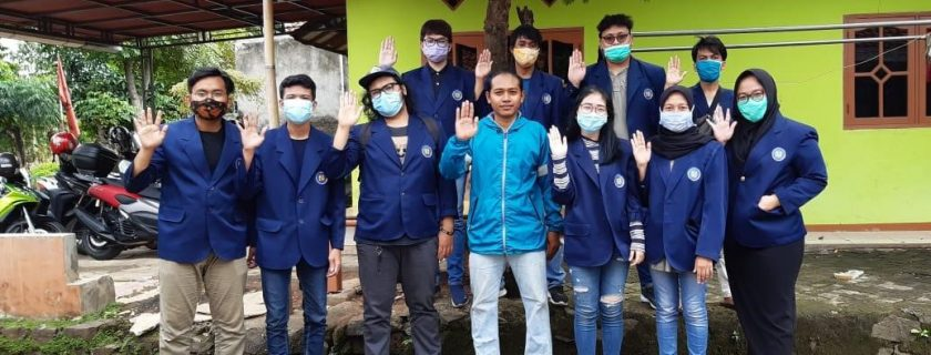 KKN Universitas Budi Luhur di Gang Mede 3 Kabupaten Tangerang