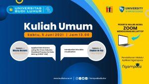KULIAH UMUM MAGISTER ILMU KOMPUTER GENAP 2020/2021