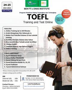 Pelatihan TOEFL