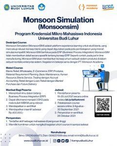 Monsoon Simulation (MonsoonSIM)