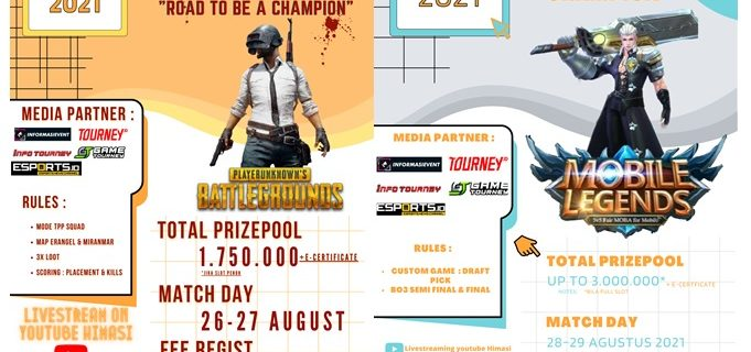 """SI CUP 2021 """"ROAD TO BE A CHAMPION"""